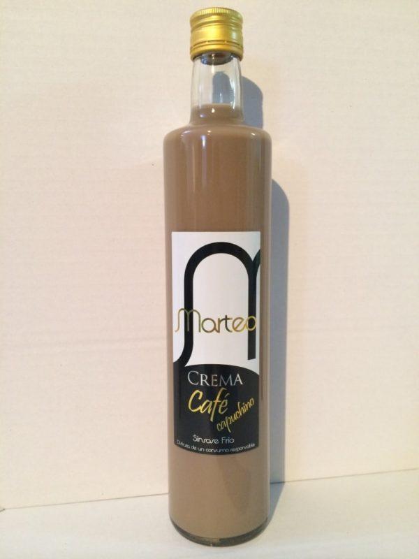 crema de café capuchino de 700ml